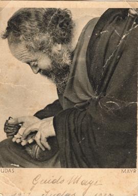 14. Guido Mayr als Judas-Darsteller 1922 und 1930