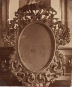 Holzbildrahmen aus der alten Kapelle