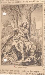 8. Abbildung aus einer Heiligenlegende